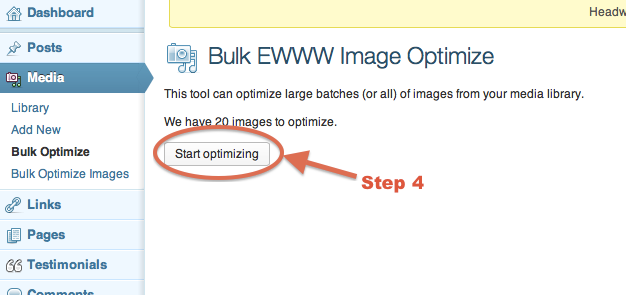 Optimize Images Step 4