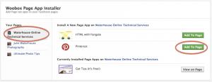 Woobox Page App Installer