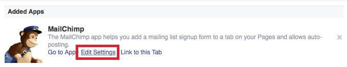 Facebook Tab Configuration Step 8