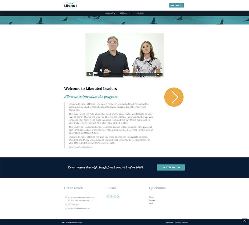 Example Intro Page